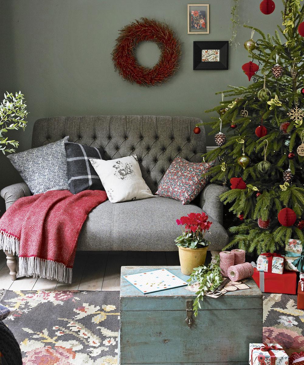 Christmas Decorations Living Room  Christmas living room decorating ideas – Living room for