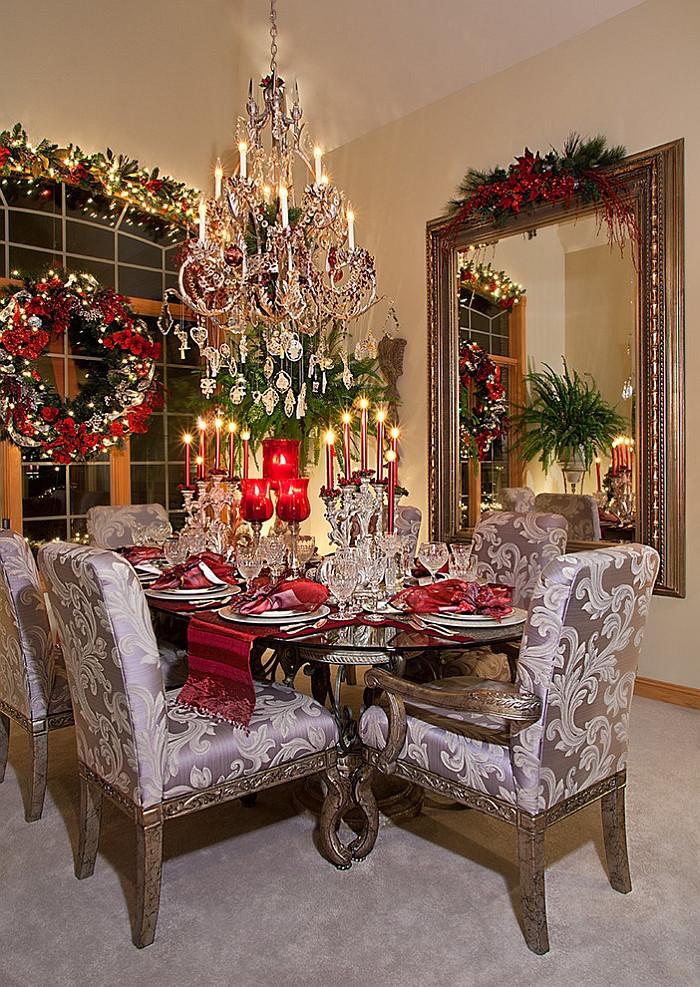 Christmas Dining Room  21 Christmas Dining Room Decorating Ideas with Festive Flair