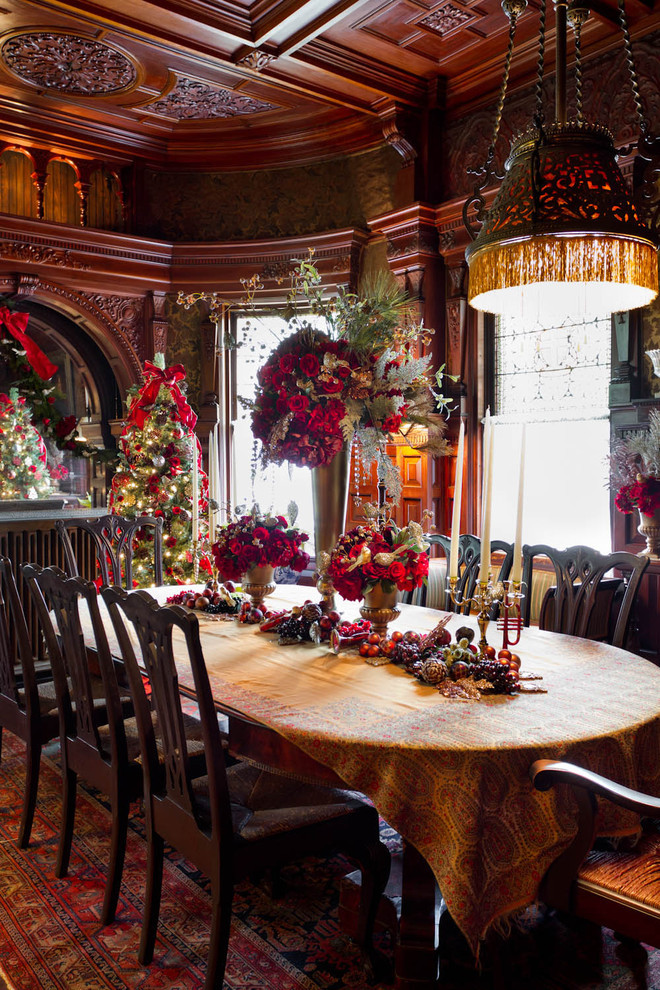 Christmas Dining Room  5 Easy Ways to Make your Home Warm and Cozy this Holiday
