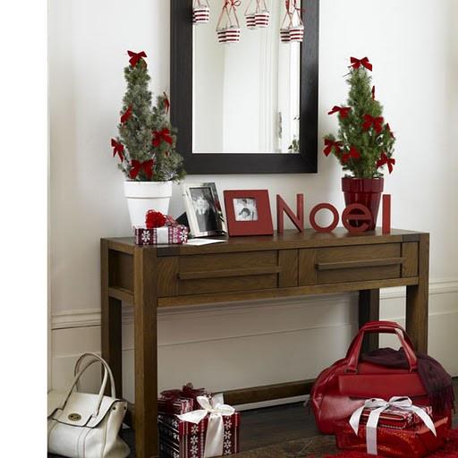 Christmas Entryway Decor  Home Quotes Christmas Decoration Ideas Theme Colors Part 3