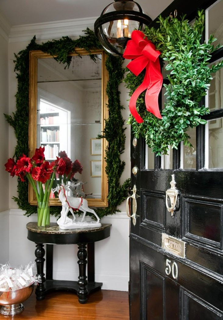 Christmas Entryway Decor  Decorating for Christmas – Our Empty Nest