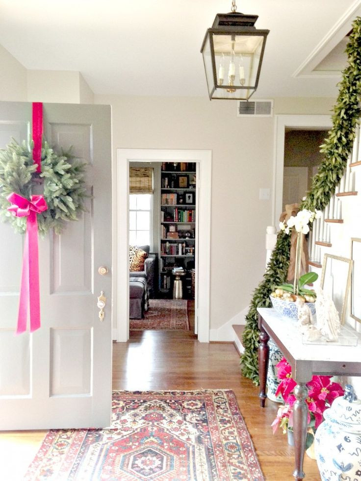 Christmas Entryway Decor  Our Guide to Holiday Home Decor — STUDIO MCGEE