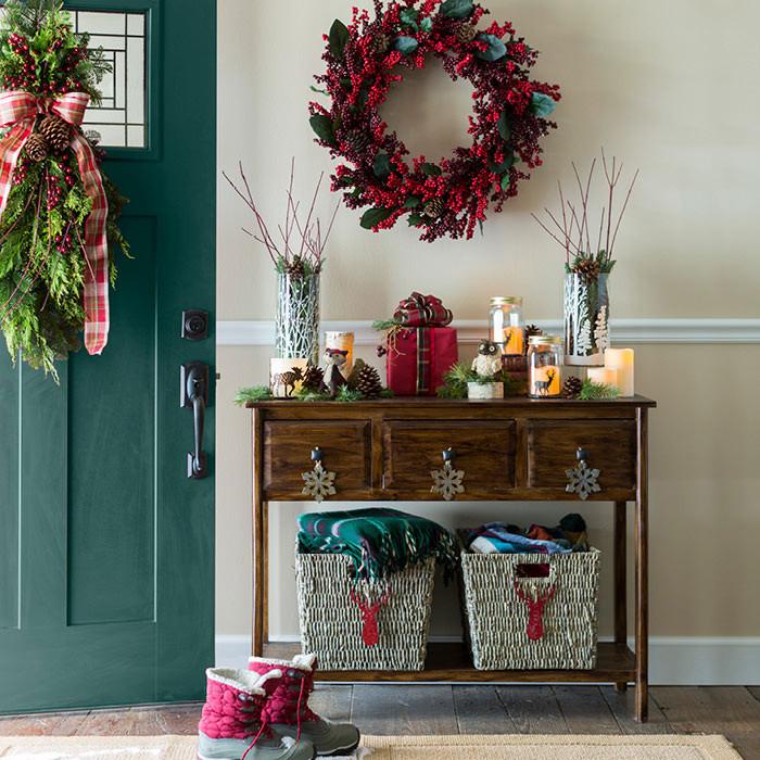 Christmas Entryway Decor  Christmas Decor for Home Entries