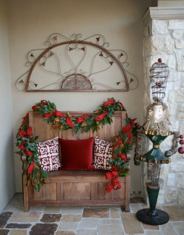 Christmas Entryway Decor  Second Chance To Dream How to Prepare the House