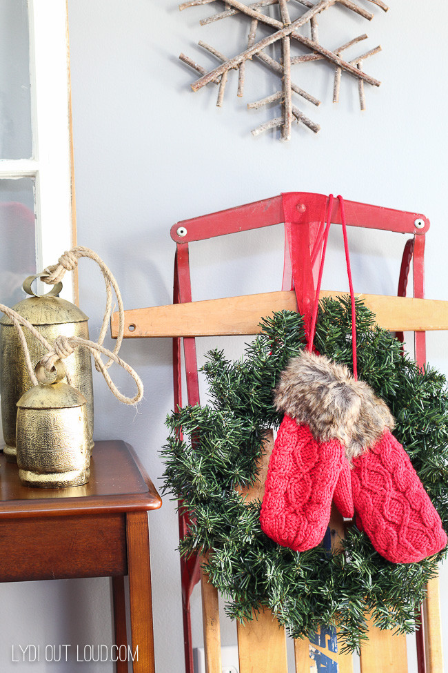 Christmas Entryway Sets  Cozy Christmas Entryway Decor Lydi Out Loud