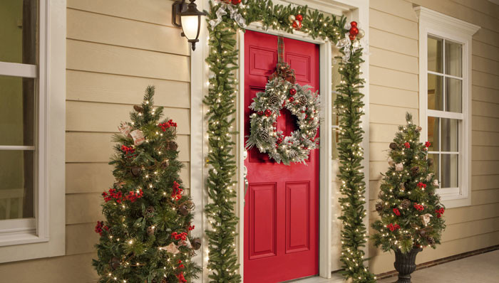 Christmas Entryway Sets New Holiday Decorations for Your Entryway