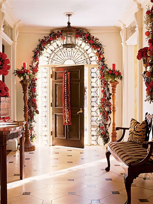 Christmas Entryway Sets  8 Fun & Festive Christmas Entryways