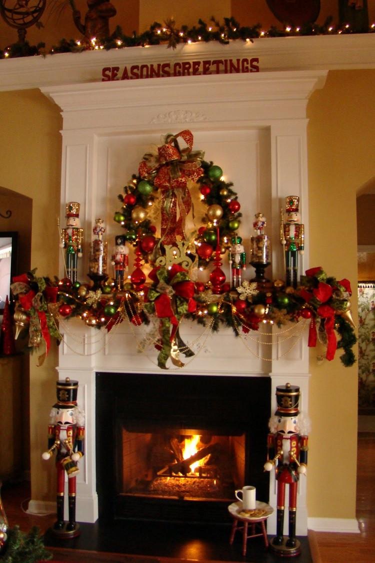 Christmas Fireplace Decor Pinterest  Prepare your home for Christmas