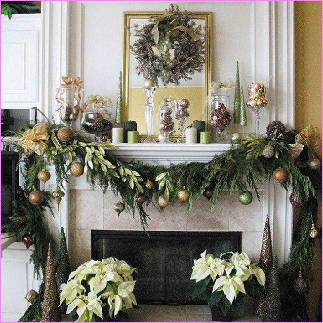 Christmas Fireplace Decor Pinterest  fireplace mantel decorating ideas Google Search