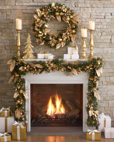 Christmas Fireplace Decor Pinterest  Best 25 Christmas fireplace ideas on Pinterest