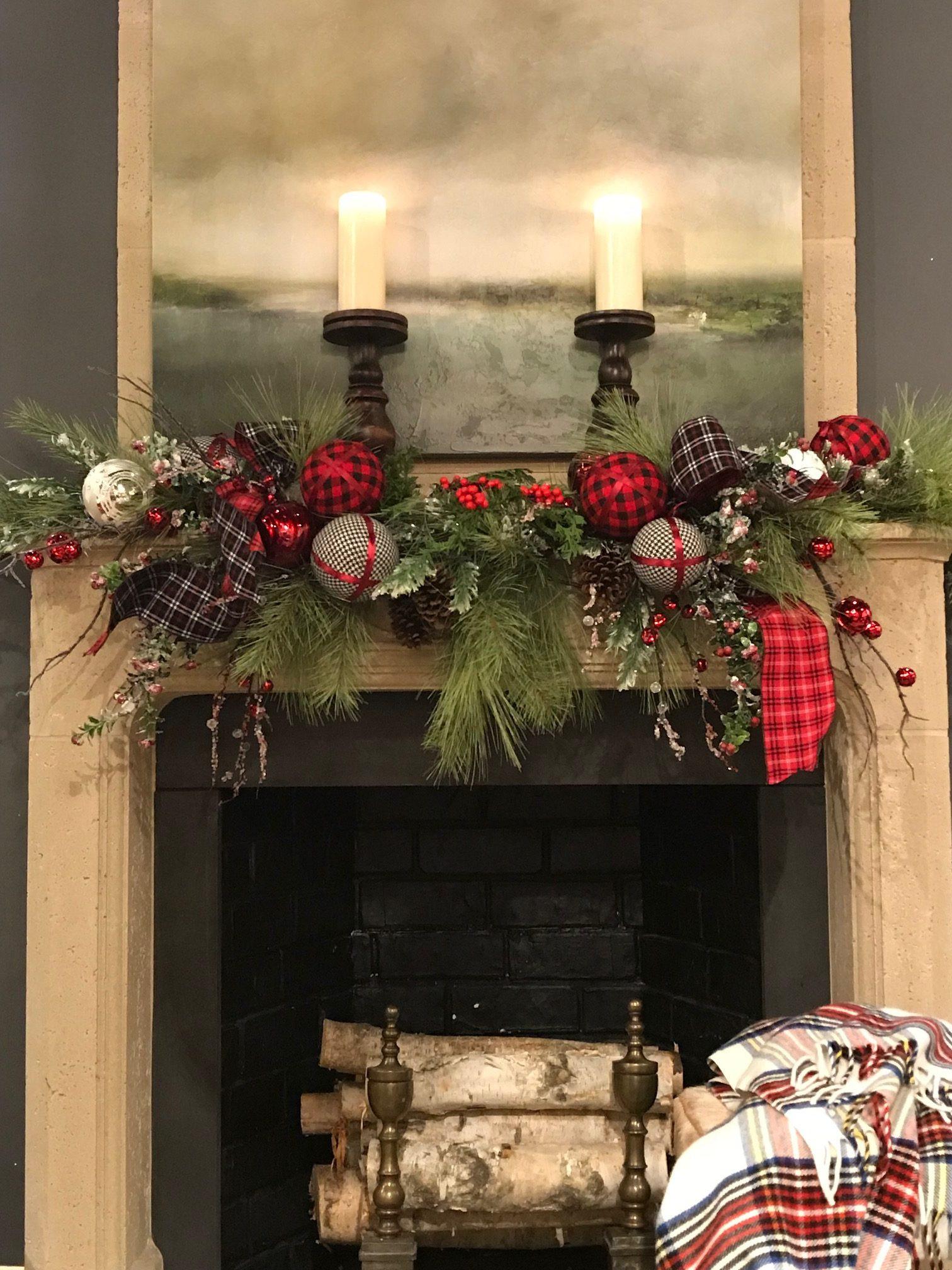 Christmas Fireplace Decor Pinterest Unique Ingre Nts Of A Marvelous Mantel Nell Hills