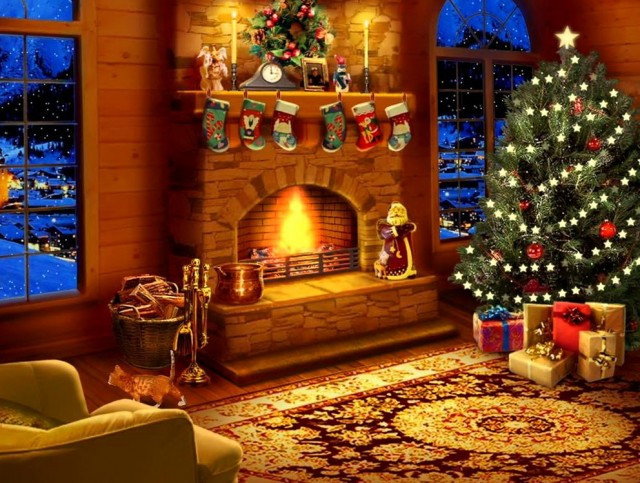 Christmas Fireplace Screensaver  Live Christmas Fireplace Screensaver – Festival Collections