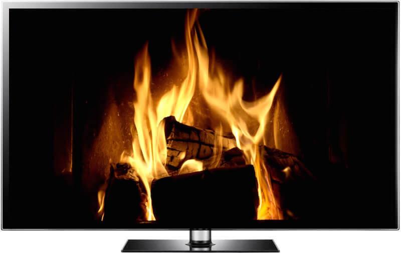 Christmas Fireplace Screensaver  The Best Christmas Fireplace Video Fireplace Screensaver