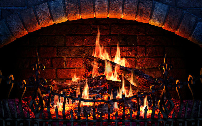 Christmas Fireplace Screensaver  Screenshots for Fireplace 3D Screensaver 2