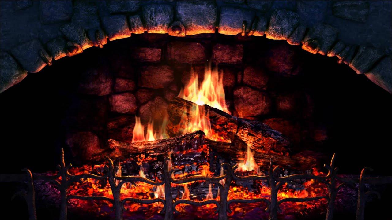 Christmas Fireplace Screensaver  Fireplace 3D Screensaver