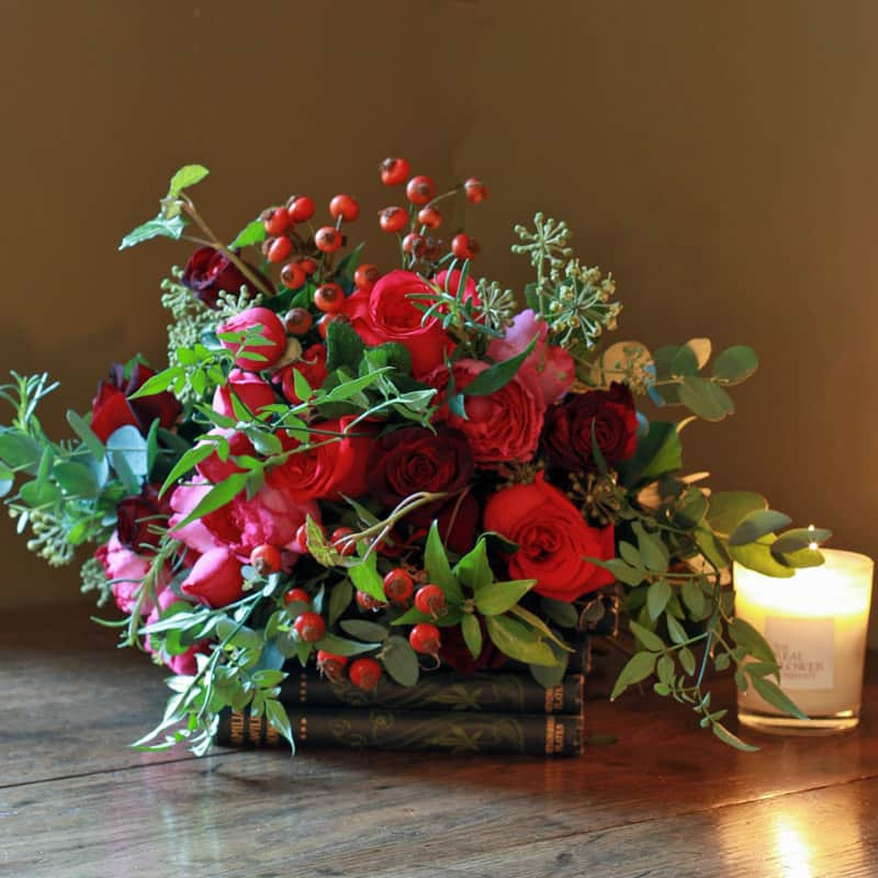 Christmas Flower Bouquets  Fill your Home with Fabulous Flower Arrangements