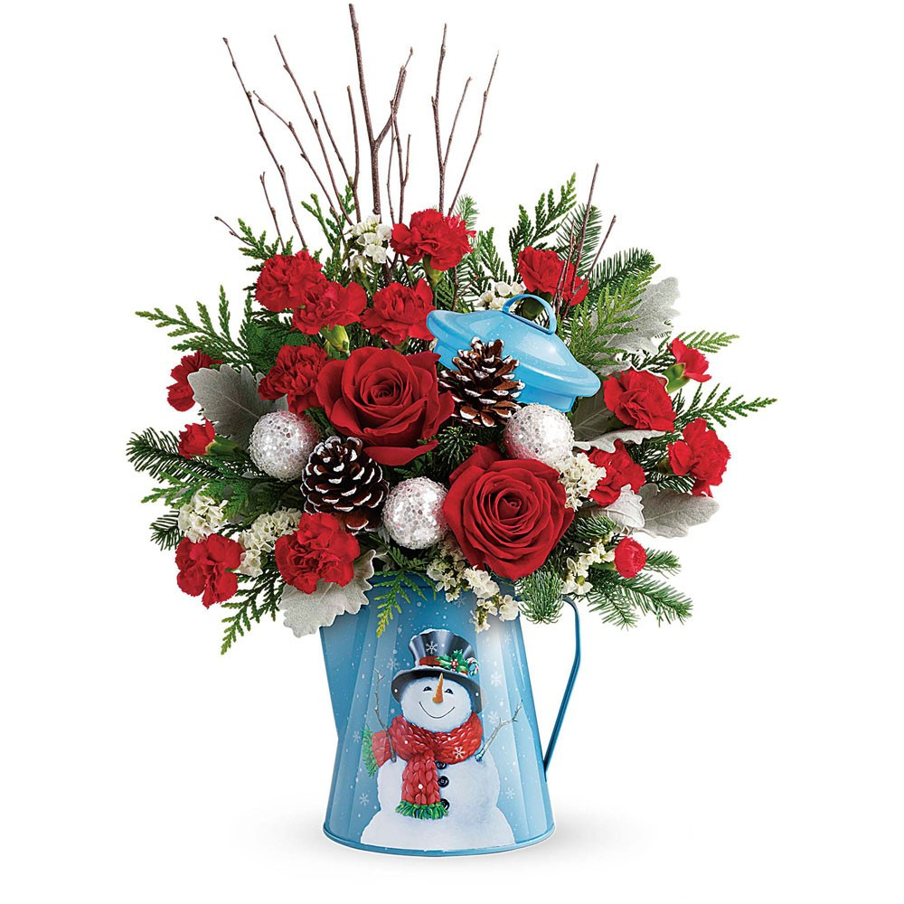 Christmas Flower Bouquets  Snowy Daydreams Bouquet