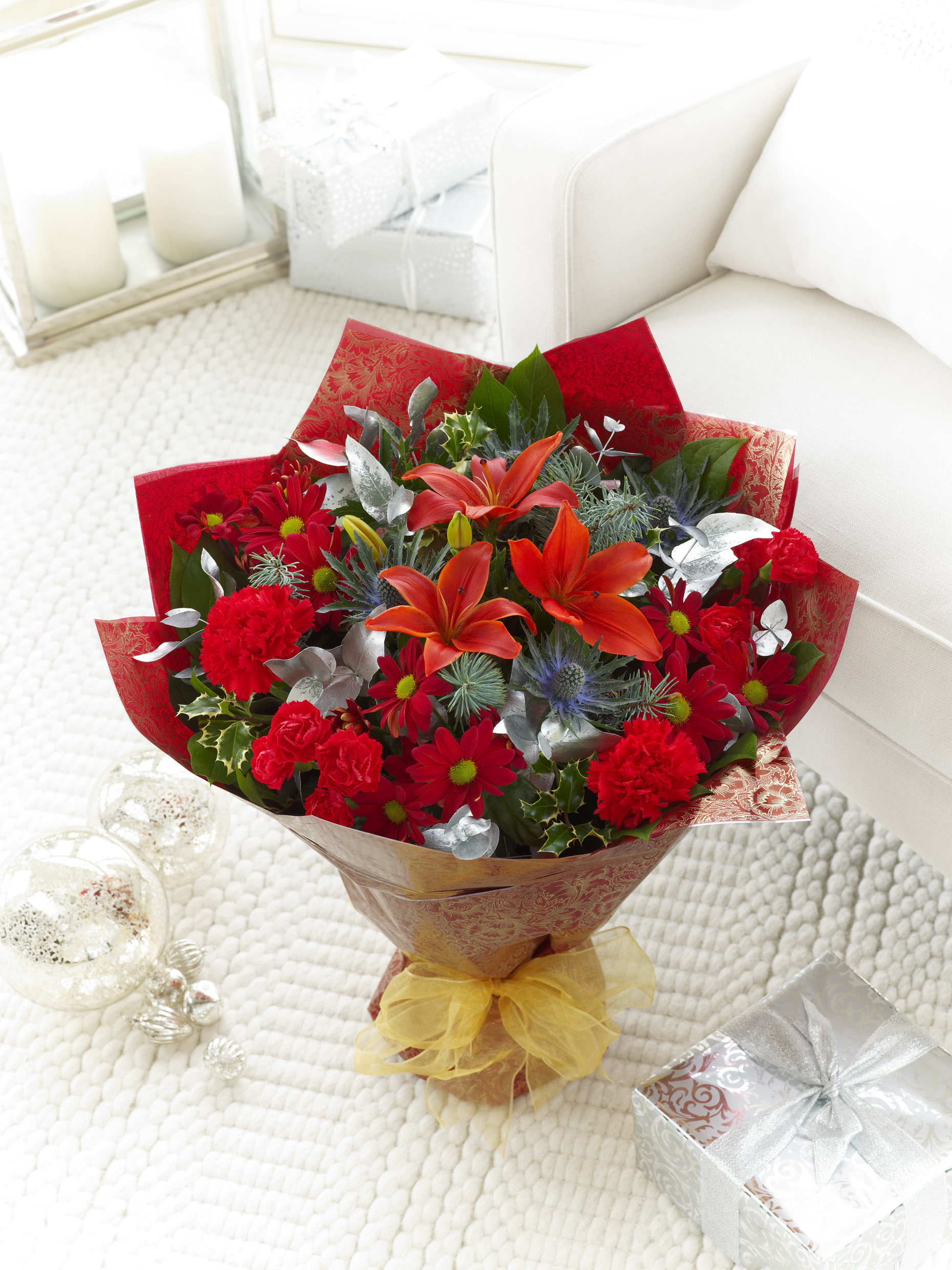 Christmas Flower Bouquets  Christmas Flower Selection now available online