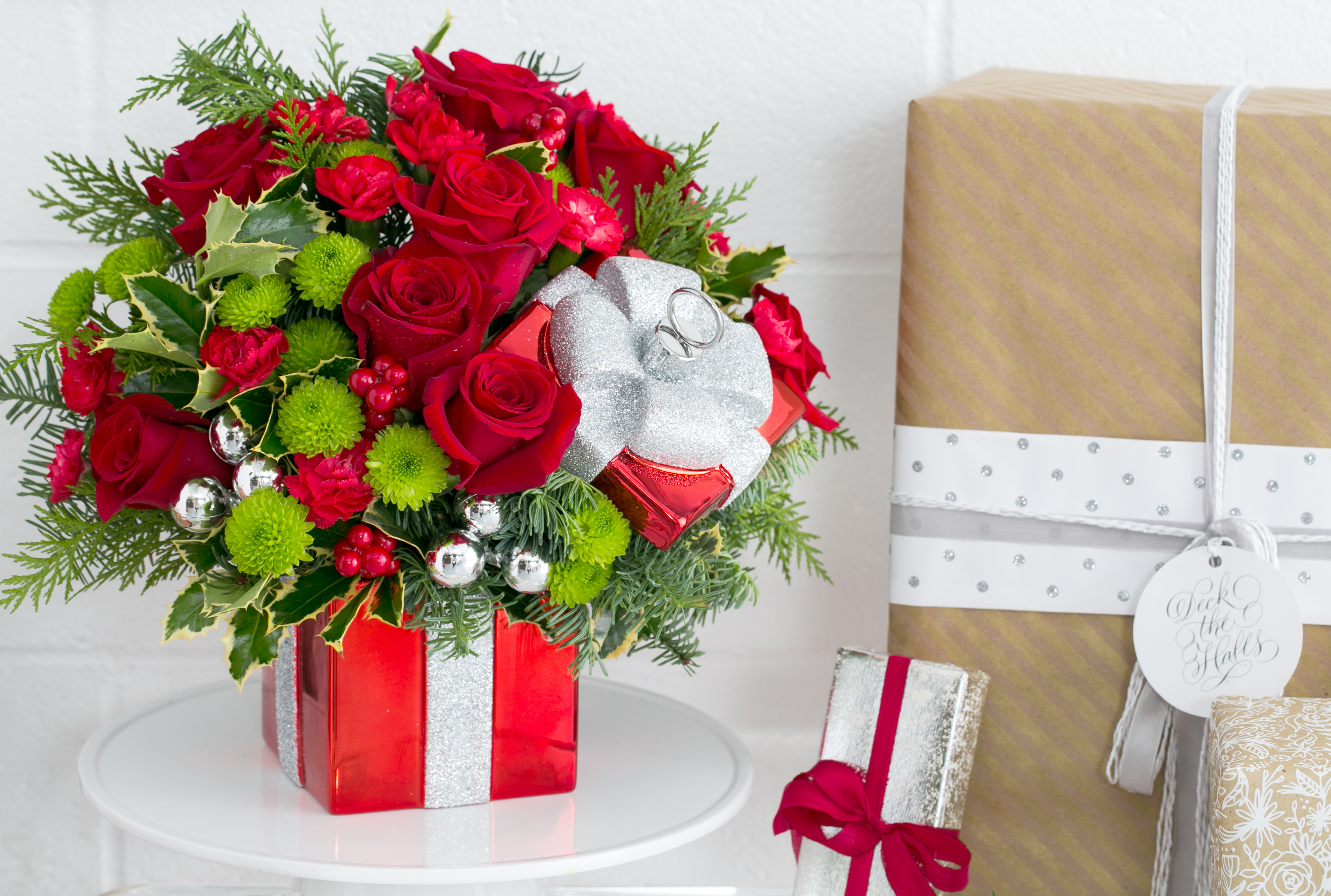 Christmas Flower Bouquets  Teleflora Knows the Best this Season You Delivered