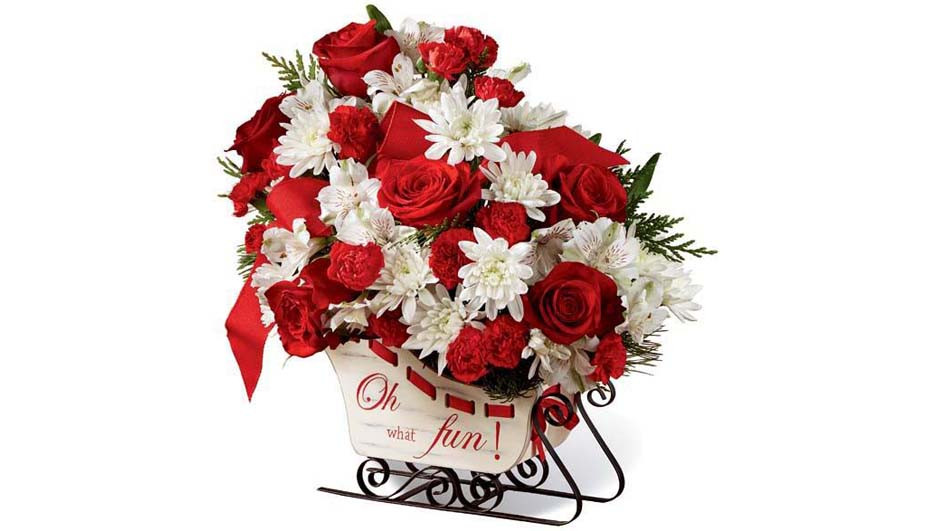 Christmas Flower Delivery Usa  Christmas Flowers Sent Worldwide Same Day Delivery in