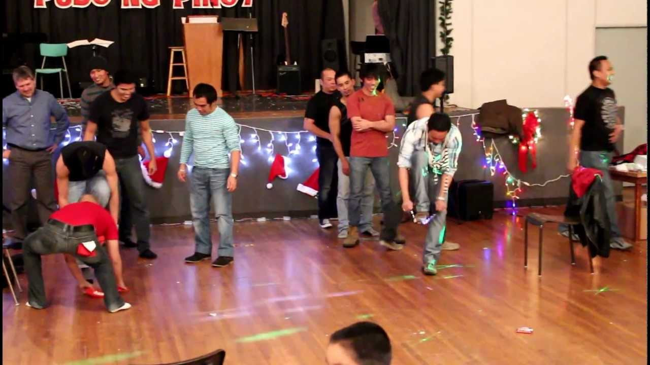 Christmas Indoor Games  St Brieux Filipino Christmas Party Parlor Games 2012
