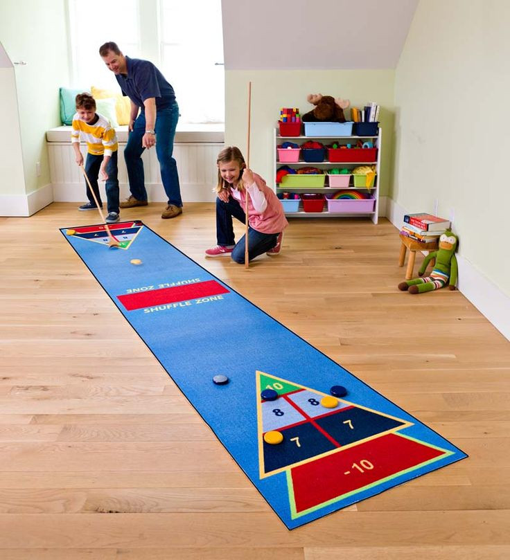 Christmas Indoor Games  Shuffle Zone indoor game for cold days