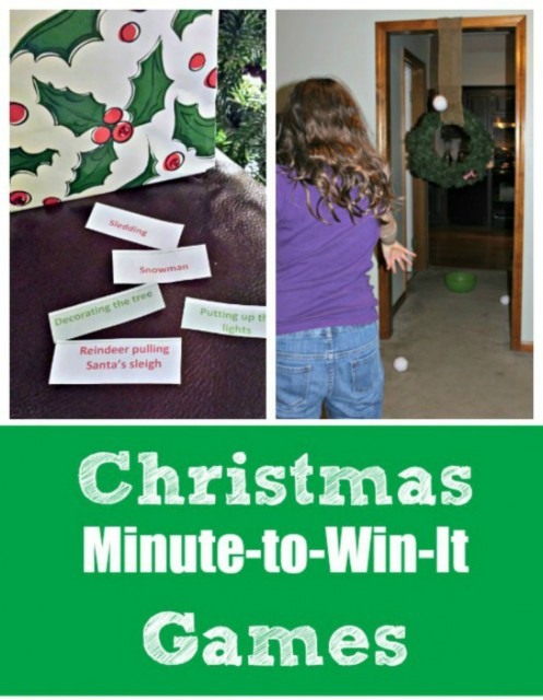 Christmas Indoor Games  Indoor Winter Games Holiday Charades Pictionary w free