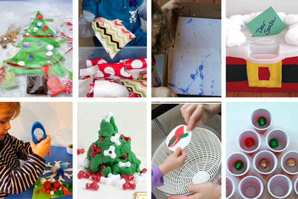 Christmas Indoor Games  30 Easy Toddler Christmas Activities