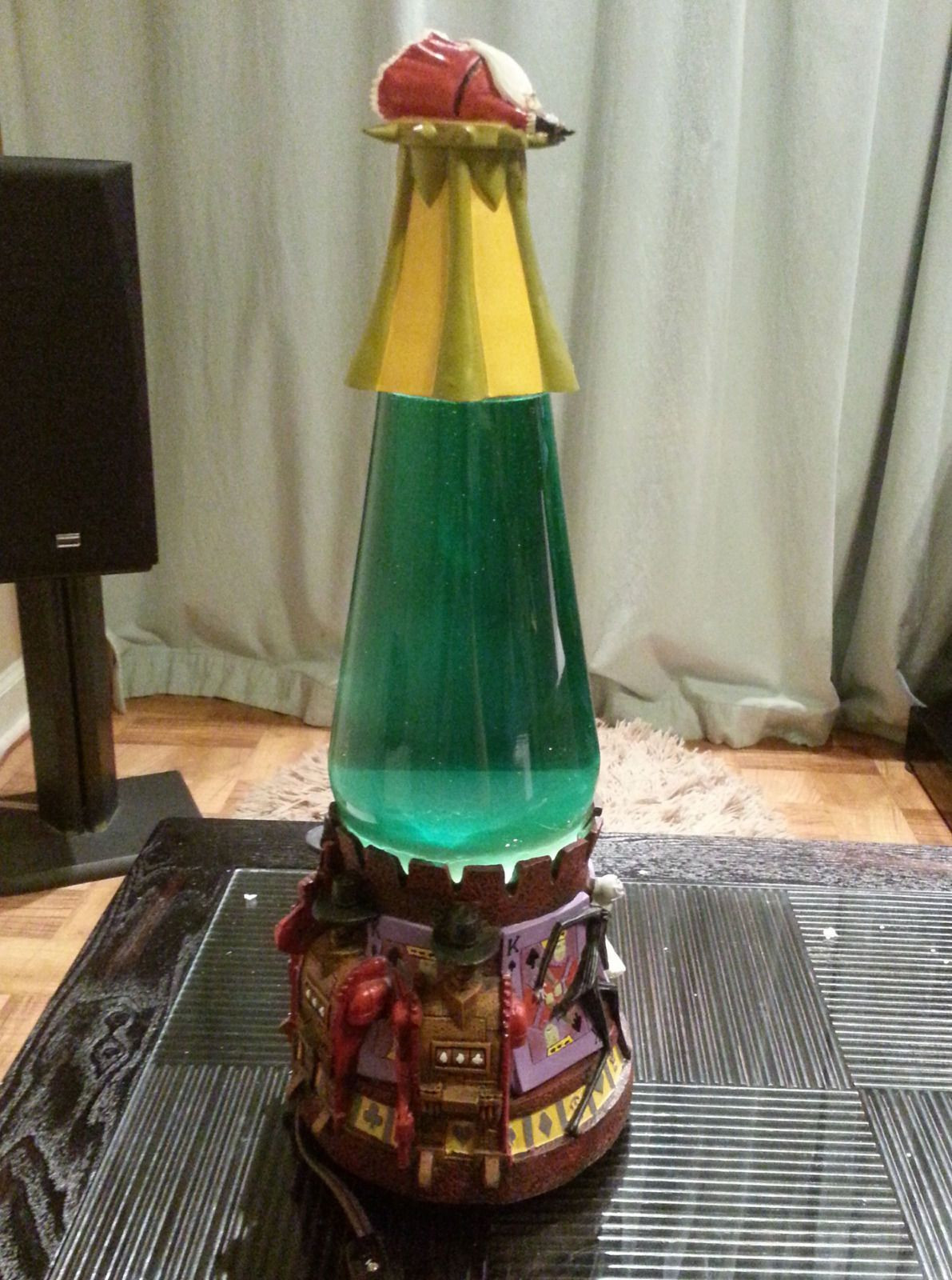 Christmas Lava Lamp  NIGHTMARE BEFORE CHRISTMAS Lava Lamp WITH BOX