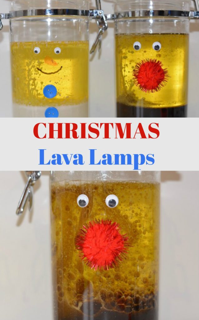 Christmas Lava Lamp  Christmas Science Christmas Lava Lamps Science Sparks
