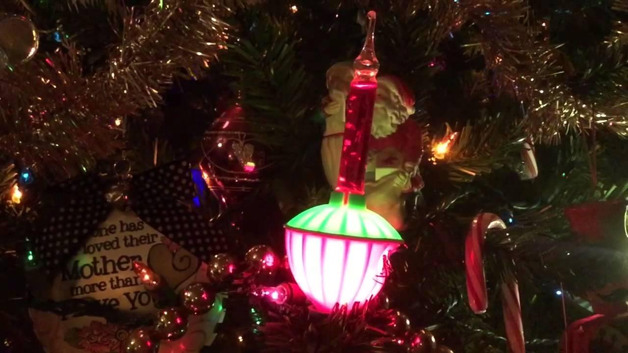 Christmas Lava Lamp  Lava lamp looking Christmas lights