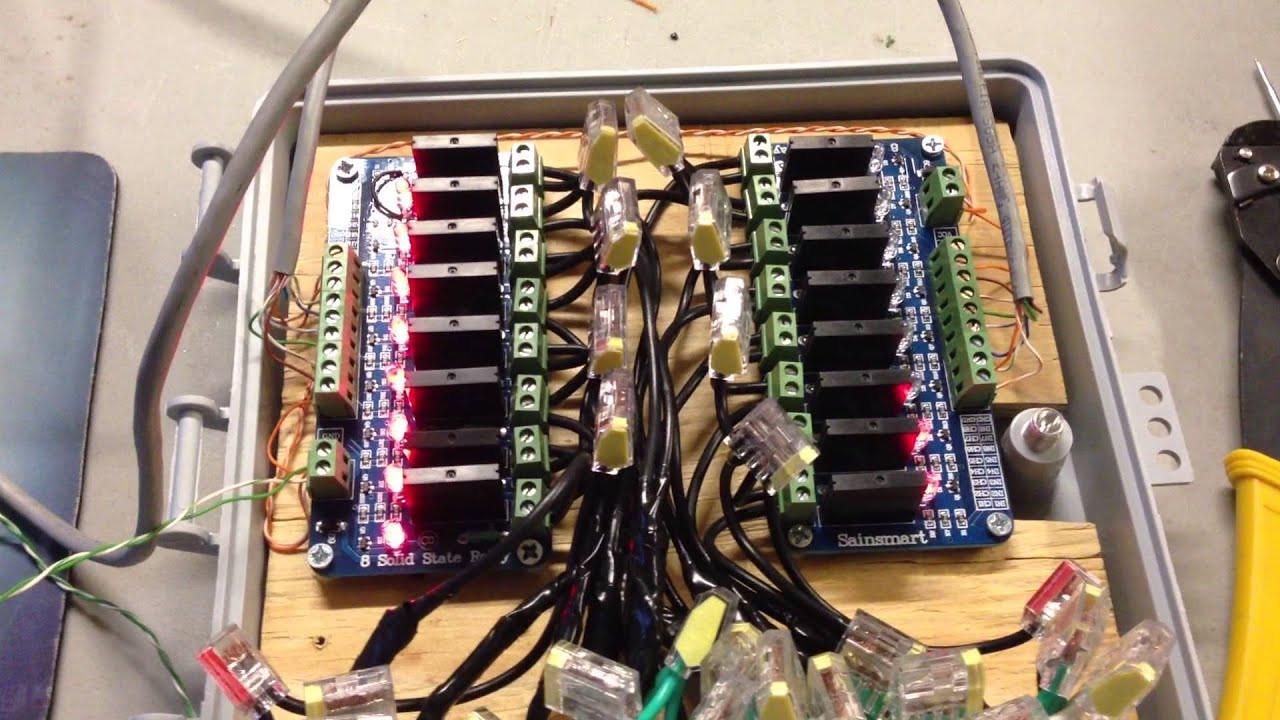 Christmas Lighting Controller System Beautiful Custom Christmas Light Controller Part 4