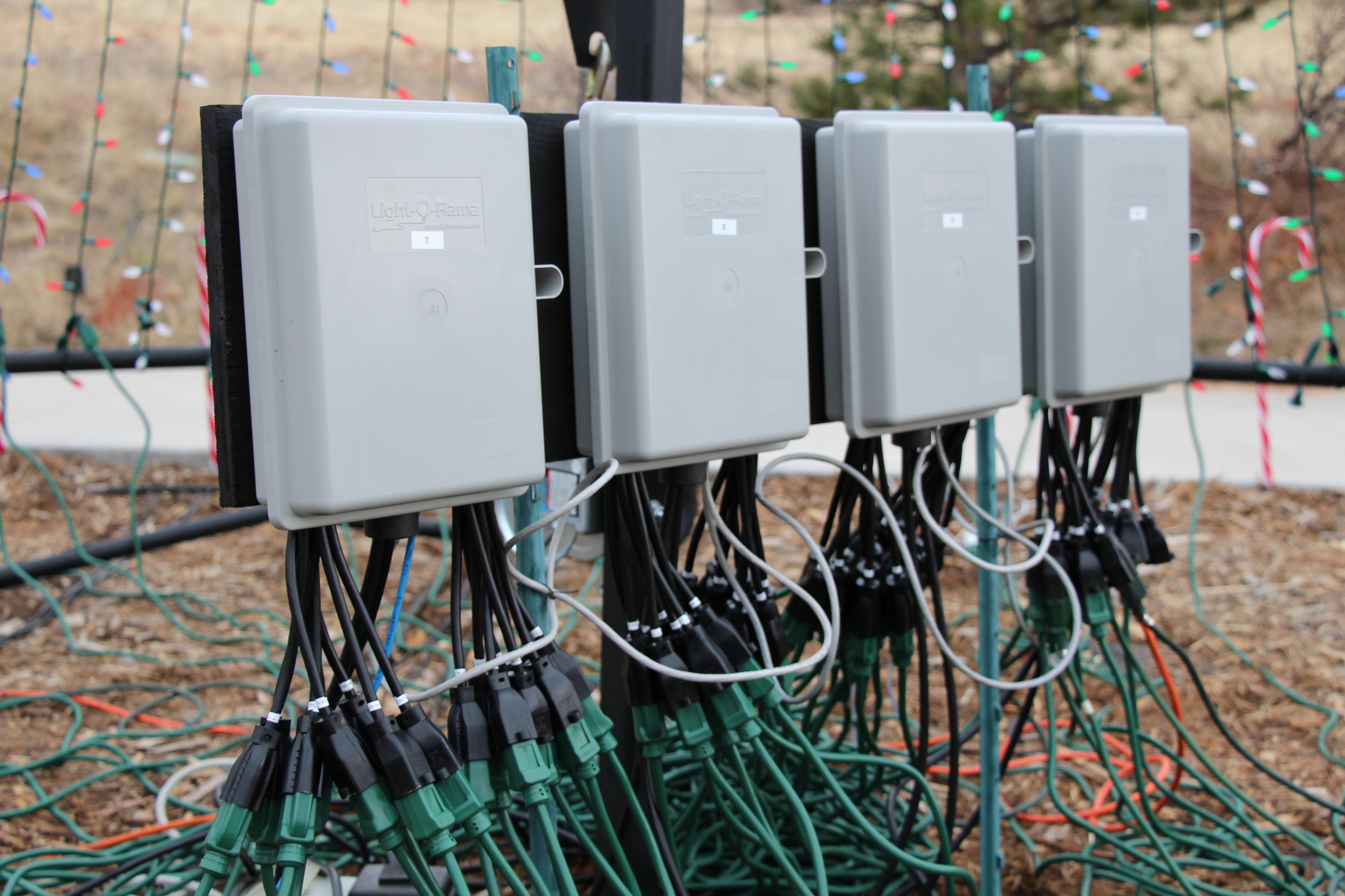 Christmas Lighting Controller System  Christmas Lights 2012