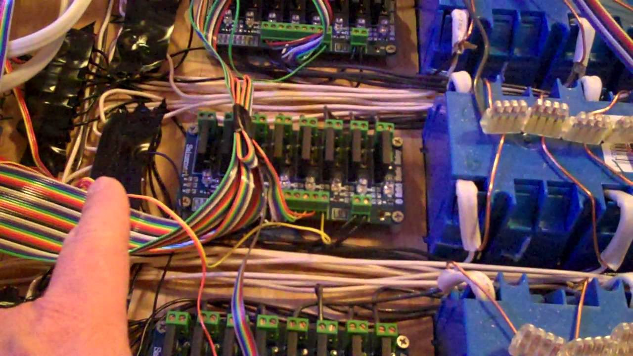 Christmas Lighting Controller System  Christmas Lights Control System Part 19 Version 2