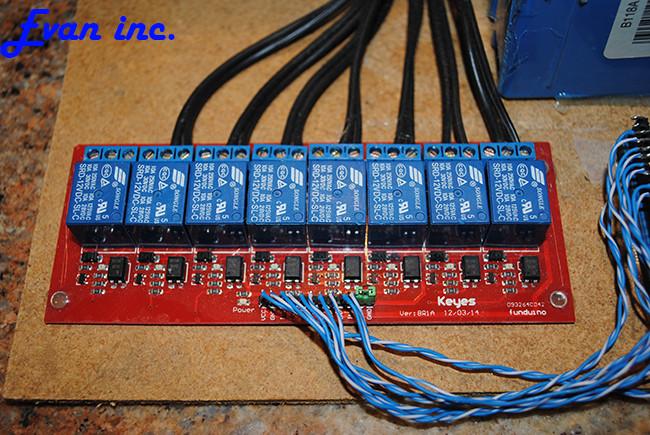 Christmas Lighting Controller System  Evan D Kline