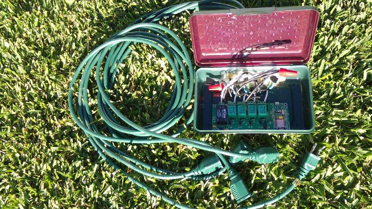 Christmas Lighting Controller System  Internet of Things Christmas Lights Control System