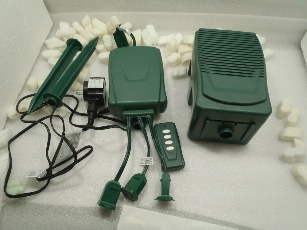 Christmas Lighting Controller System  Holiday Brilliants Spectacular Light & Sound Show Remote