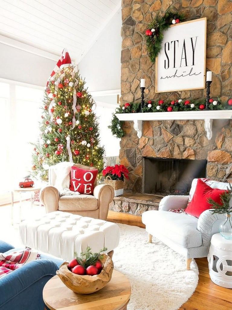 Christmas Living Room Ideas  32 Wonderful and Beautiful Christmas Living Room Decor Ideas