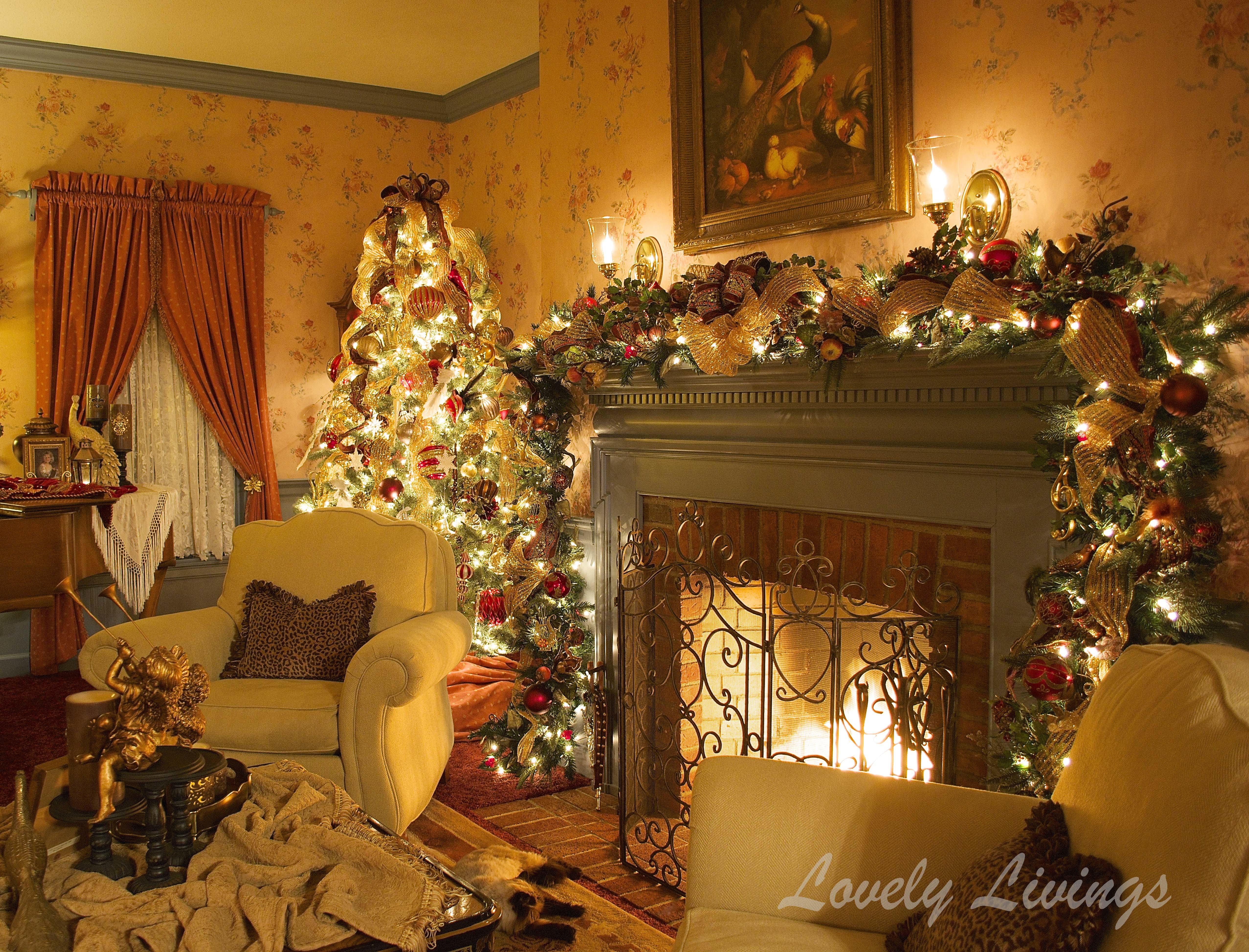 Christmas Living Room Ideas  The Christmas Room