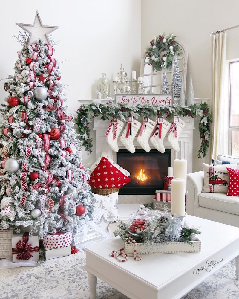 Christmas Living Room Ideas  19 Festive Christmas Living Room Decor Ideas