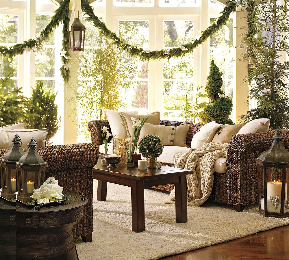 Christmas Living Room Ideas  Christmas Interiors