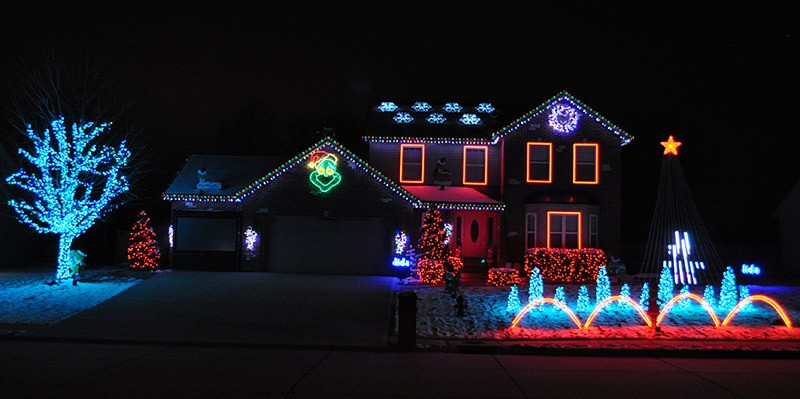 Christmas Rooftop Decorations  Christmas Roof Decorations