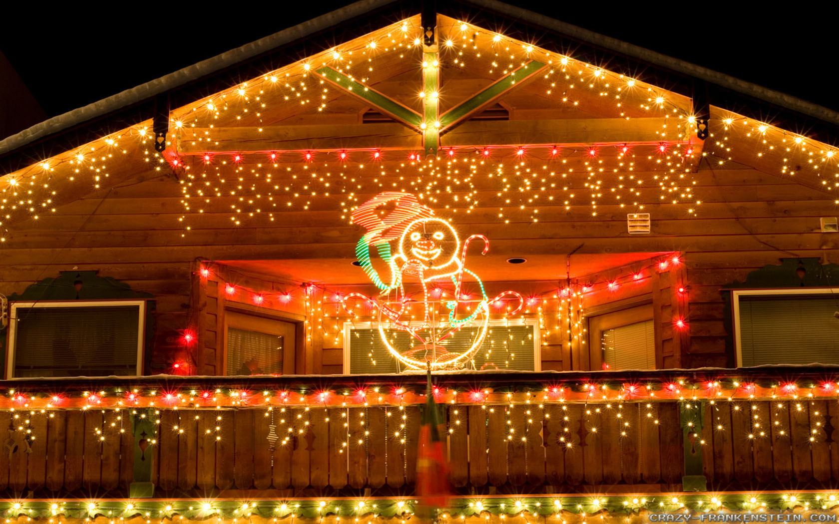 Christmas Rooftop Decorations  Outdoor Christmas Decorations wallpapers Crazy Frankenstein