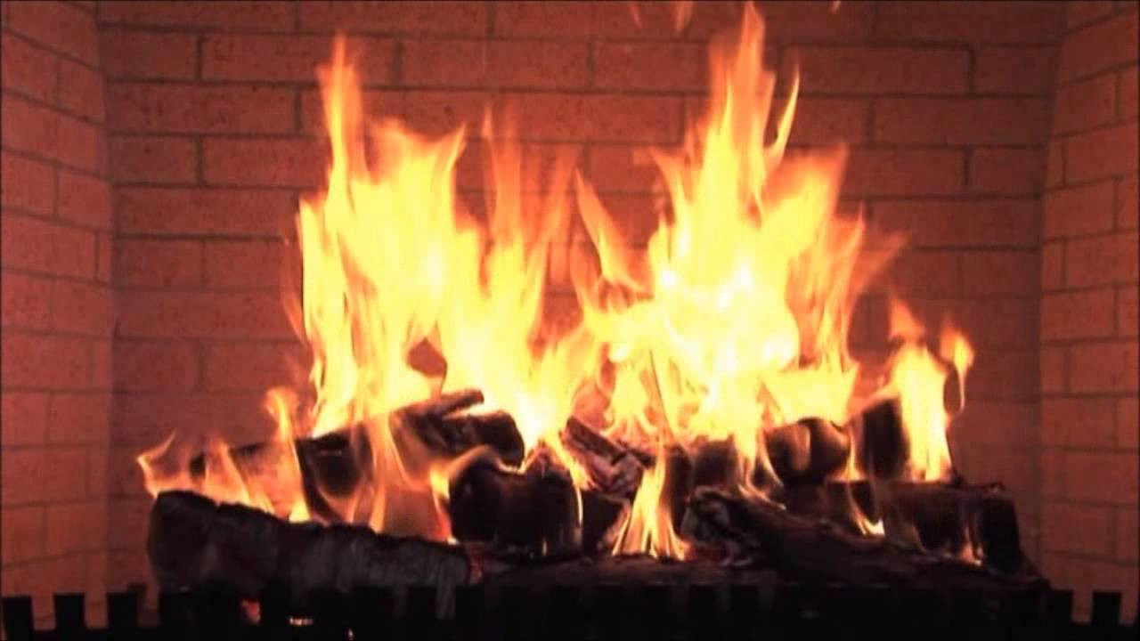 Christmas Songs With Fireplace  Clydes Christmas Music by the Fireplace wmv