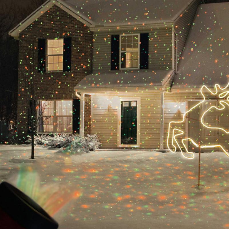 Christmas Spot Lighting  Garden Laser Star Shower Decoration Lawn Lamp Sky