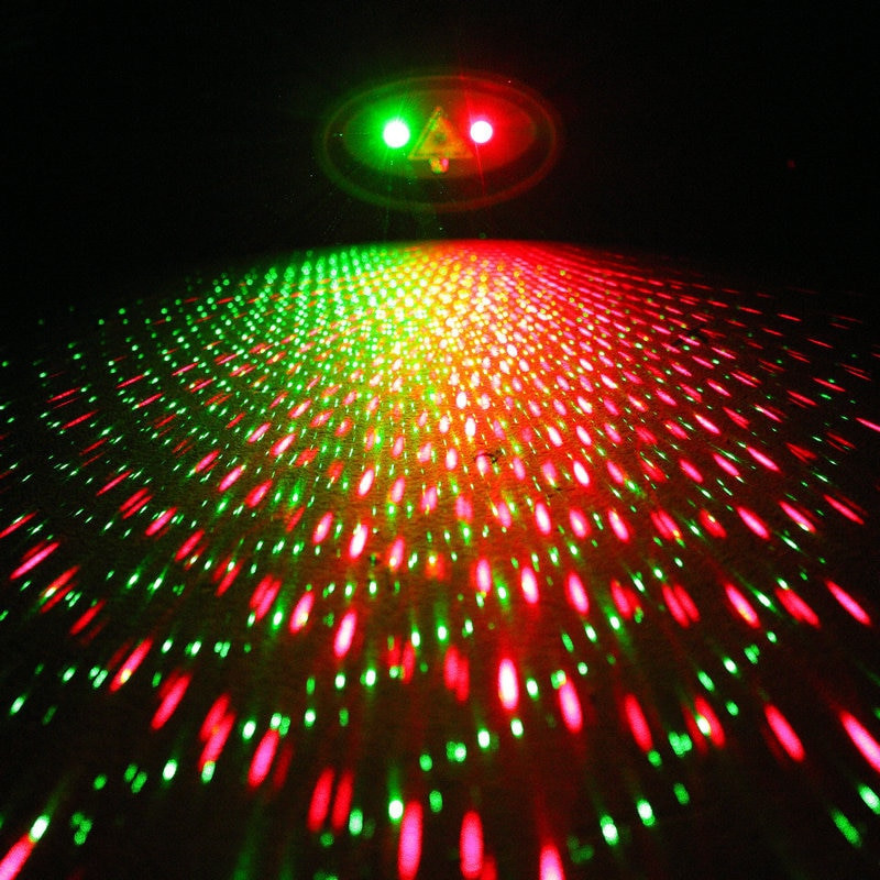 Christmas Spot Lighting  Solar Powered Laser Light Creative Design Christmas Lights