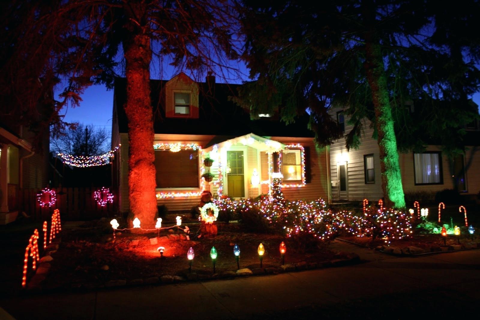 Christmas Spot Lighting  Outdoor Lighting Spotlights For Home Mini Microscope