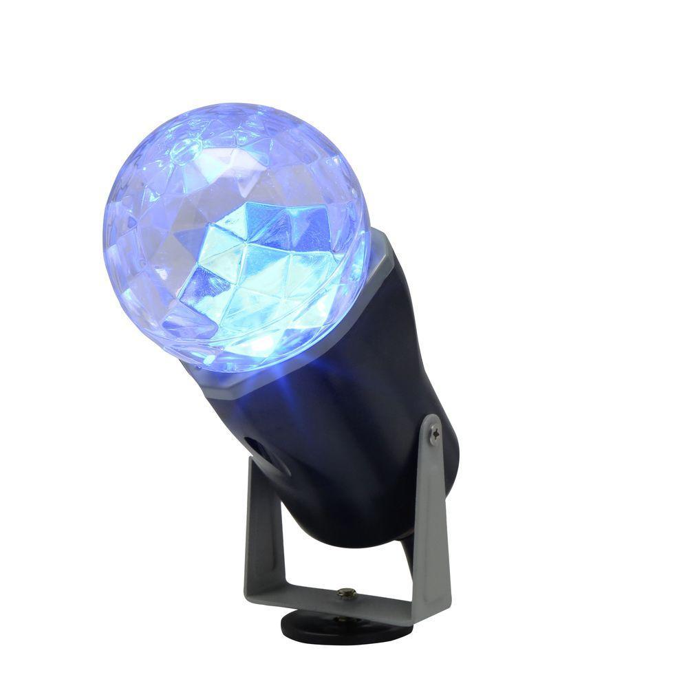 Christmas Spot Lighting  LightShow 10 in Blue Projection Kaleidoscope Spotlight