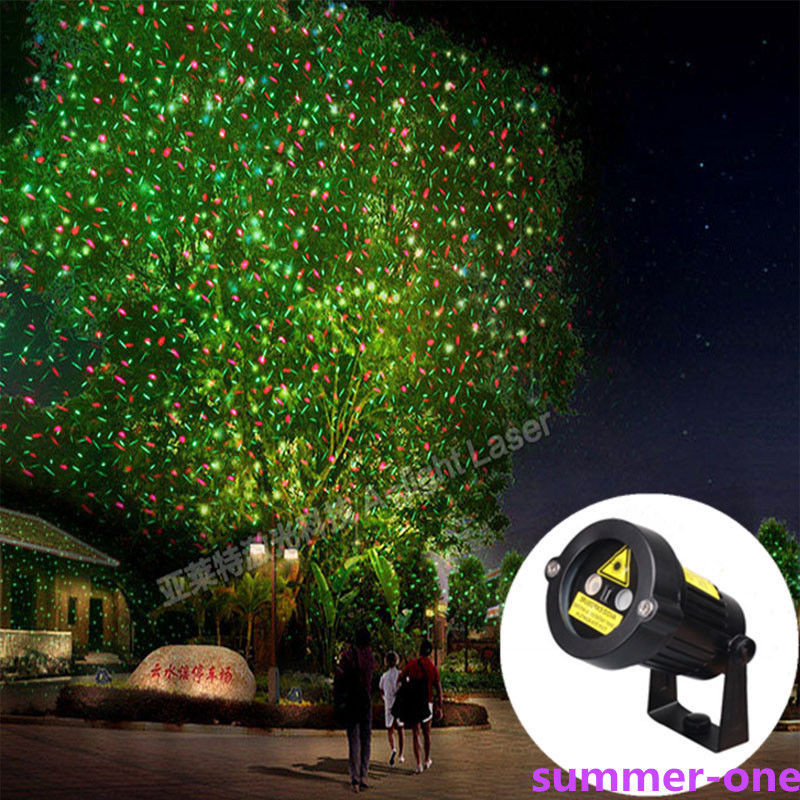Christmas Spotlight Outdoor  UK Outdoor Xmas Light Sky Star Laser Spotlight Light