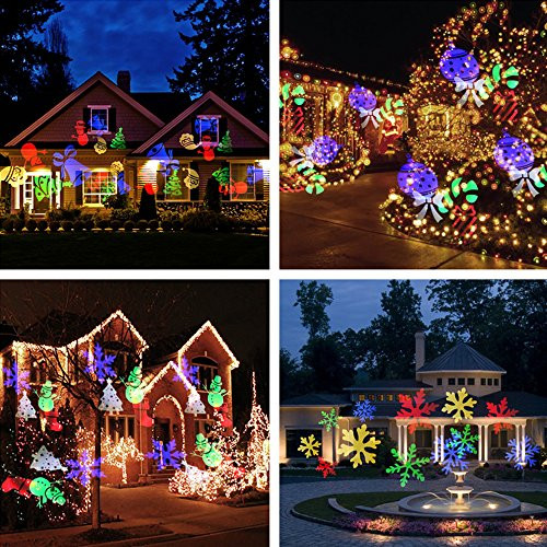 Christmas Spotlight Outdoor  Halloween Projector Lights Auledio Outdoor IP65